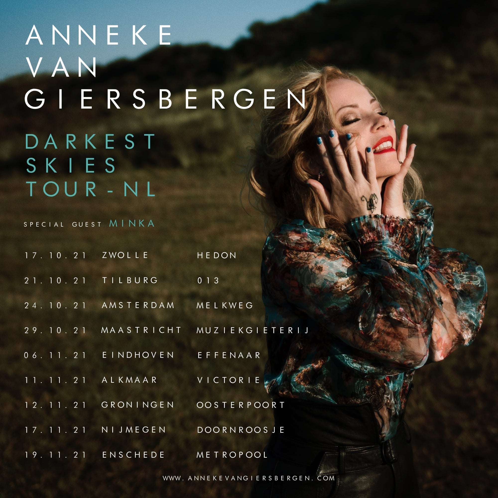 Tour 2021/22: Anneke Van Giersbergen